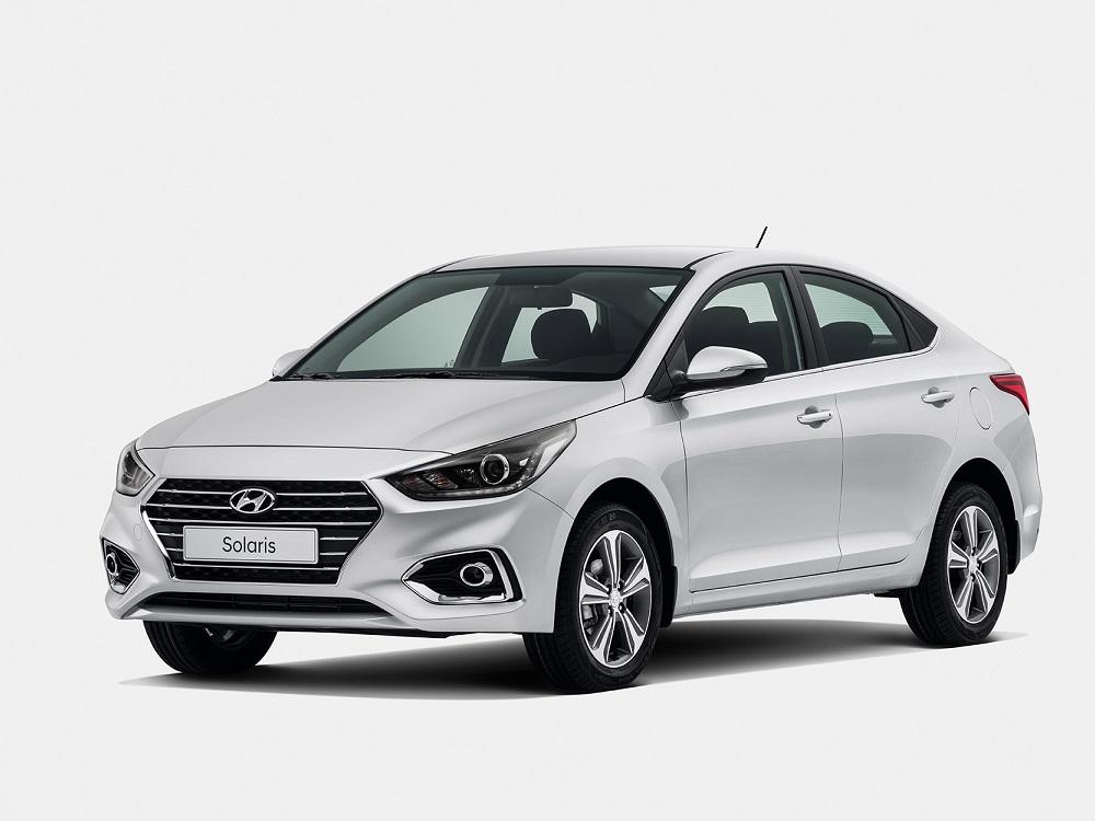 Прокат авто Hyundai Solaris III