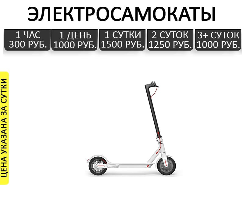 аренда гироскутеров геленджик