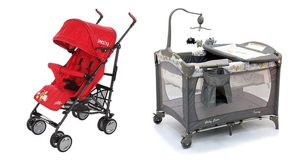 Прокат колясок и кроваток в Геленджике недорого на часы и сутки.