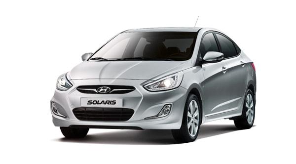 Hyunday Solaris по низким ценам в Геленджике аренда автомобилей в Геленджике недорого заказать.